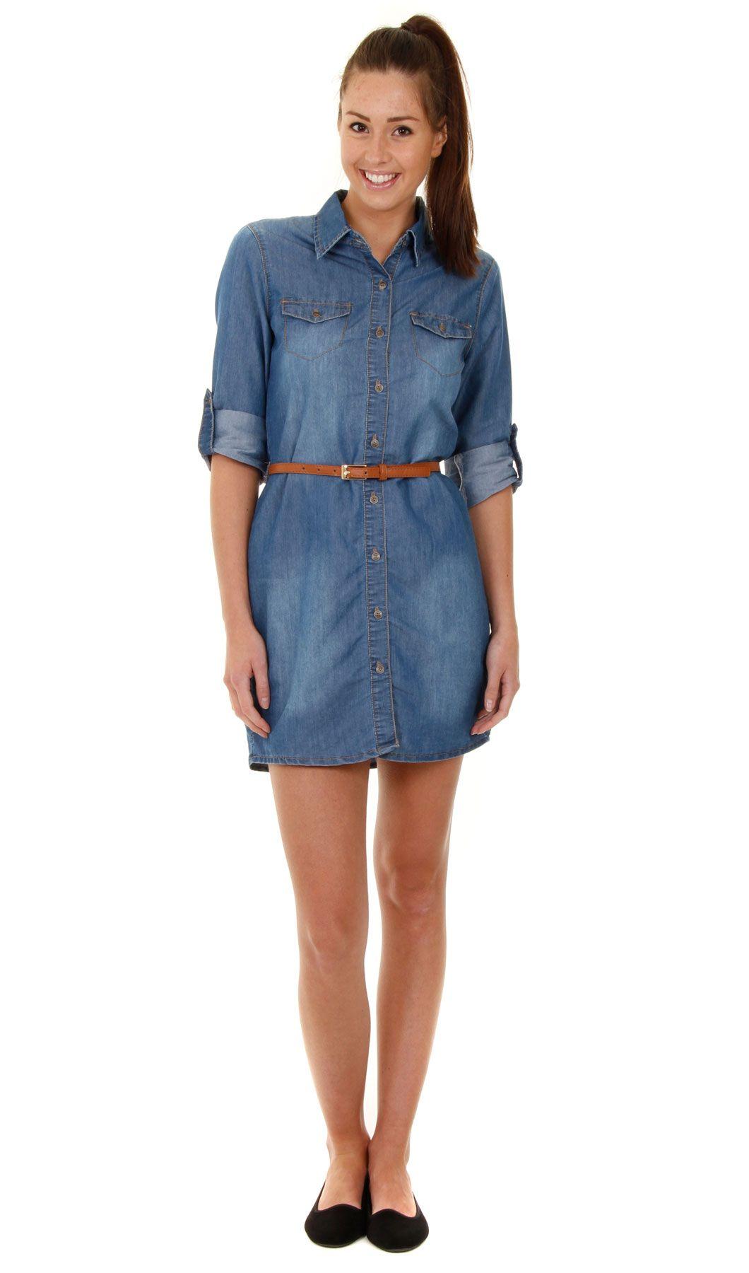 Jean dress shirt summer