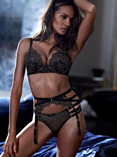 c04769575fe Very Sexy Lace Strappy Garter Belt