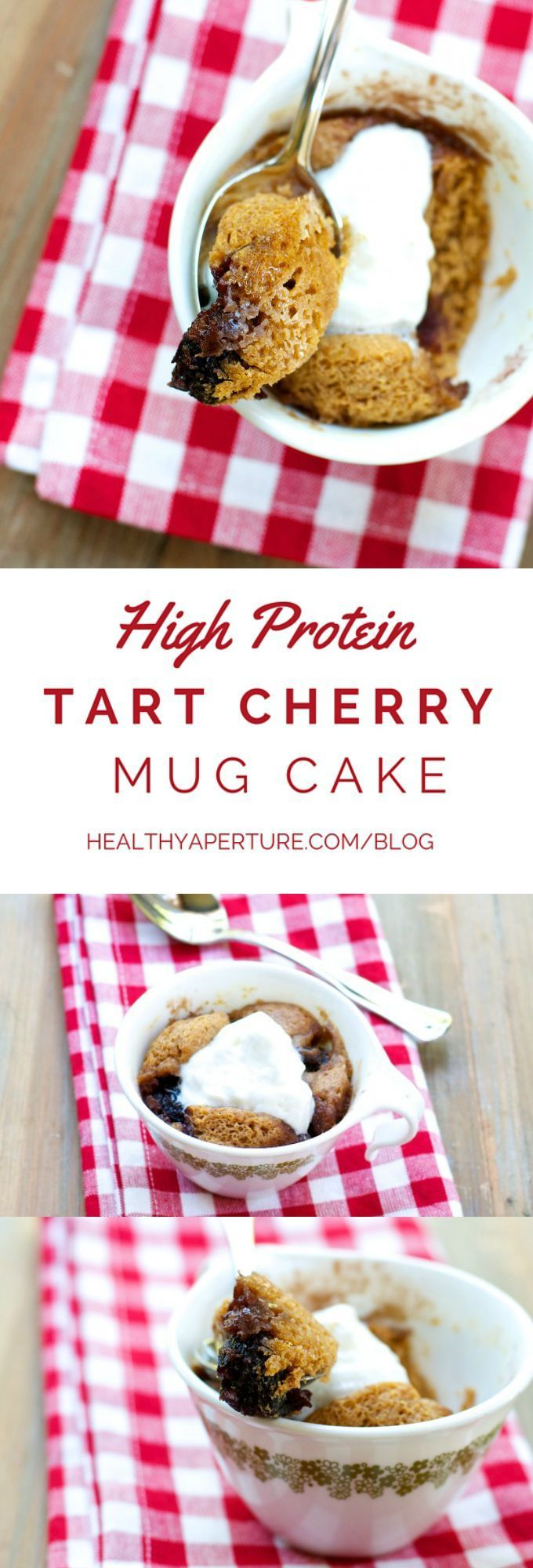 A quick and easy mug cake recipe perfect for breakfast or ...