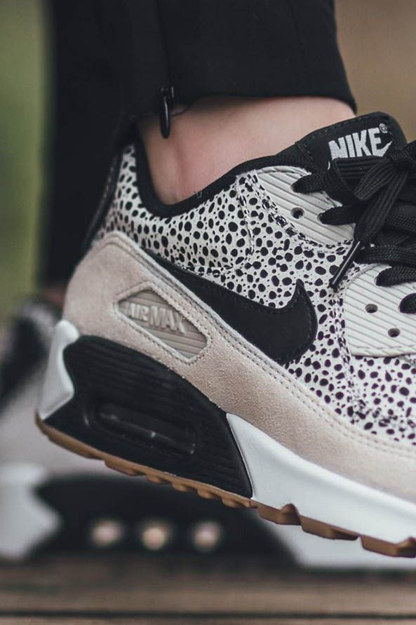 NIKE Air Max 90 Premium white & light brown | Camina