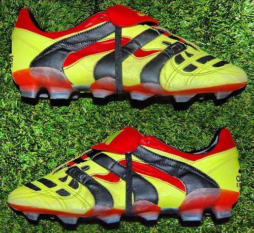 best website dc72d 9539b ADIDAS PREDATOR ACCELERATOR FG - awesome. I think one of the first  fluorescent boots besides the Valsports back in the day. Could be wrong.