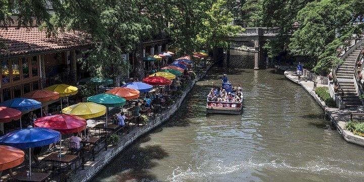 San Antonio Riverwalk, San Antonio, Texas, USA