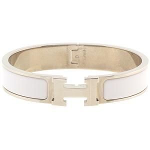 Great for stacking... Hermes Clic Clac H Narrow Bracelet