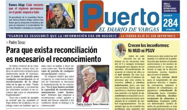 Puerto el Diario de Vargas ,  Nº. 284