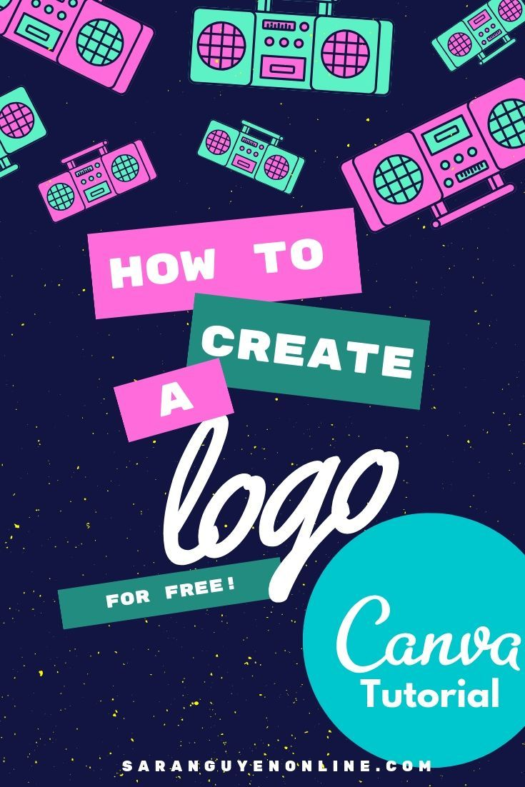 Canva Tutorial How to make a logo (for free How to make