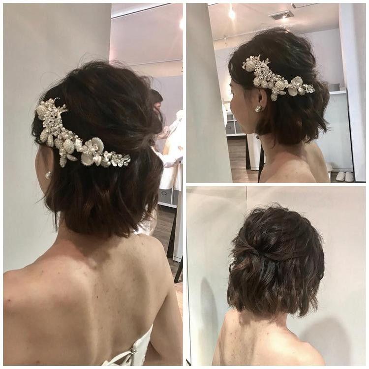 保存版 ショート ミディアムの花嫁さん向け 最新ウェディングヘア20
