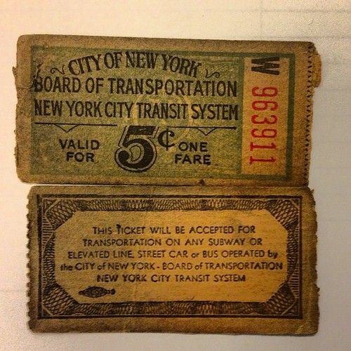 Ye Olde Metrocard Check Out These Ancient Subway Tickets Etiquetas Vintage Tren Antiguo A Train