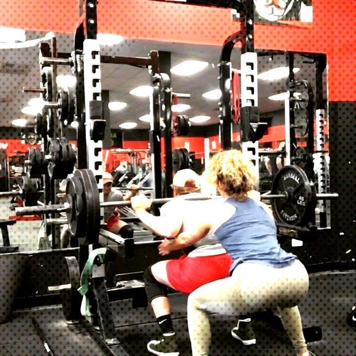 Squats!!! 300 3x1, 280 3x3 . . .