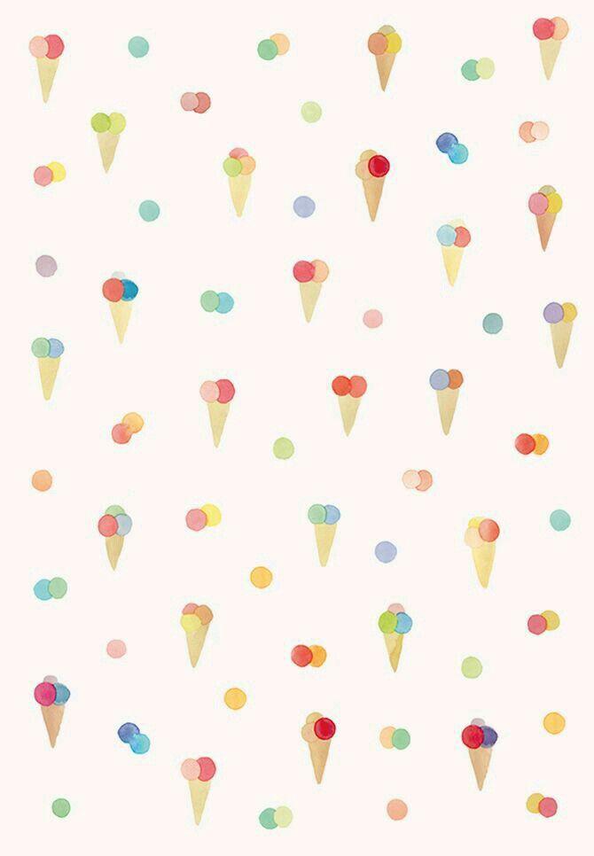 Fondo conos de helados | helados | Pinterest | Conos de helado, Cono ...
