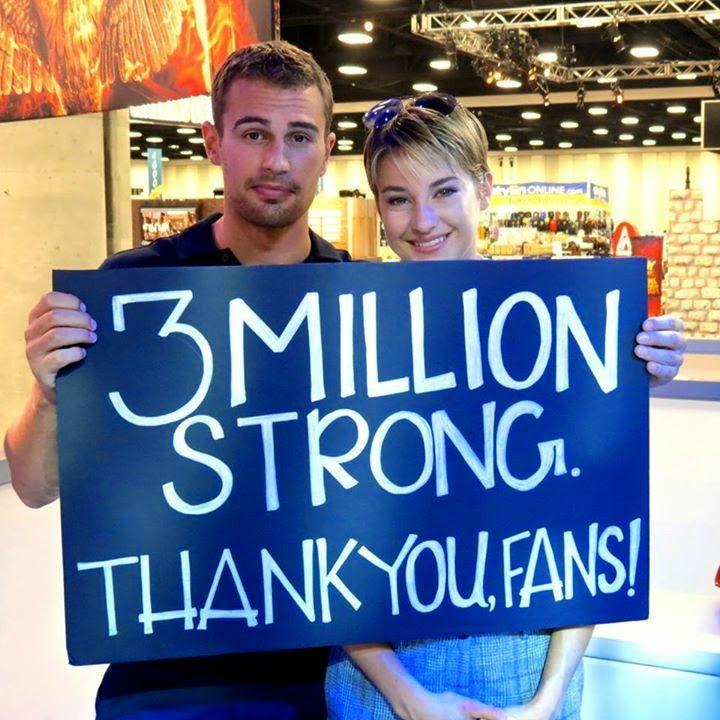 DivergentWorldRo: Video : Shai & Theo dand autografe la Comic-Con (2...