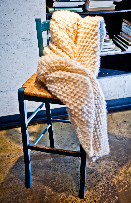 Udon Blanket | Stricken und Nähen