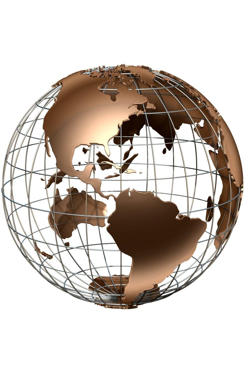 Globe Map 3d : globe, Earth, Globe, Model, Globe,, Animation