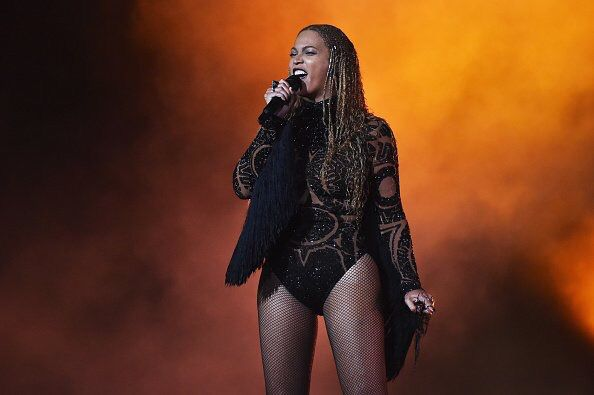 Beyoncé & Kendrick Lamar perform 'Freedom' onstage during the 2016 BET Awards at the Microsoft Theater on June 26, 2016 in Los Angeles, California.
