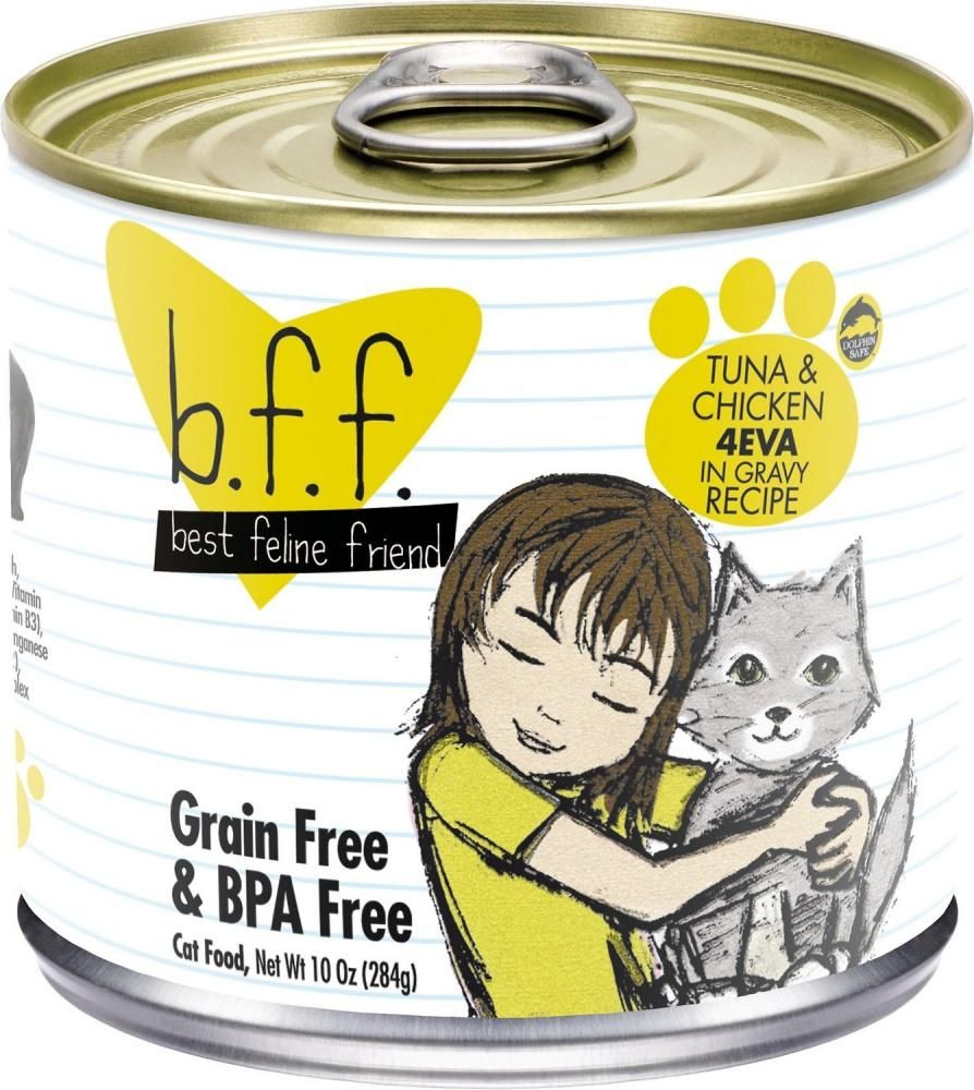 Weruva BFF Tuna and Chicken 4EVA Canned Cat Food