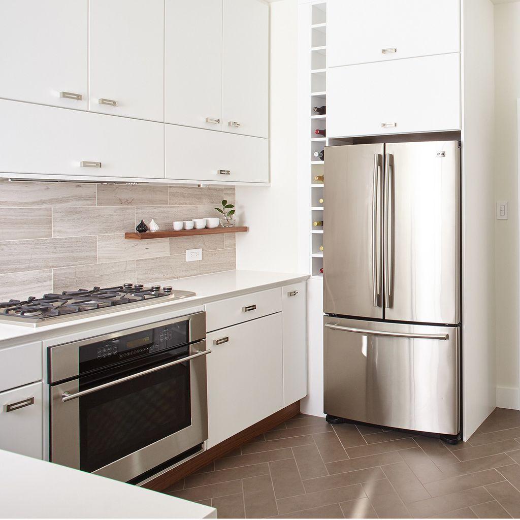 Designer Kitchen Floating Shelves | Brum Residence | Pinterest ...