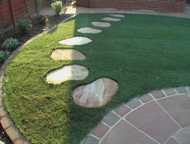 Garden Stepping Stone Ideas For Simple Garden. @bruidsmodeoutlet ...