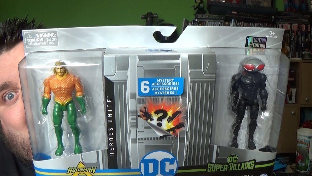 FUNKO POP DC HEROES AQUAMAN Movie BLACK MANTA 4 inch VINYL FIGURE new!
