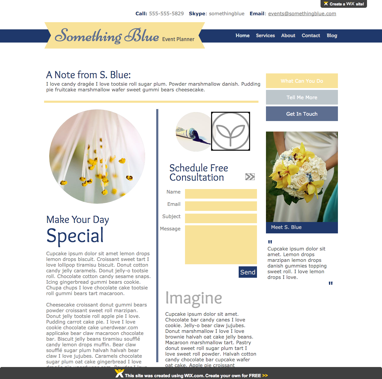 blue and yellow dating site
