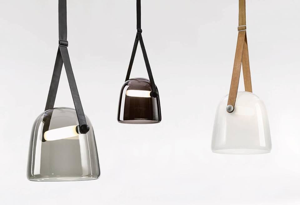 White Interior - Brokis lights - White - Black - Transparent grey - Mona. Design by Lucie Koldova.