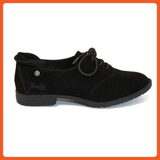 Blowfish Tane 9 Negro Fawn Flat Lace Up Oxford Talla 9 Tane Botas for a157ab