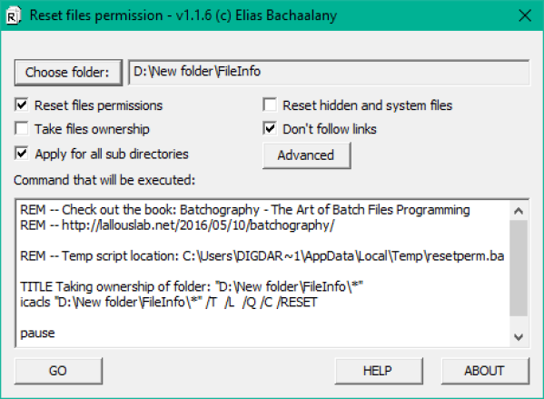 Batchography: The Art of Batch Files Programming