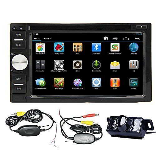 Car Stereo Touch Screen Dvd Player Radio In Dash Gps Map Bluetooth Android 4 2 Eincar