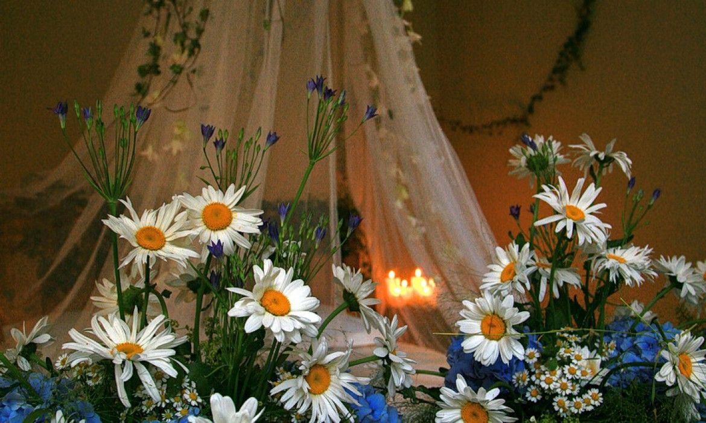 Свадьба в усадьбе Лермонтова. 2007 год | DorogoBogato - Профессиональный Флористический Декор
