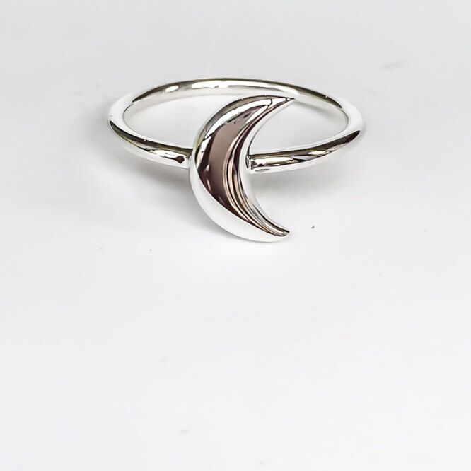 Lotus Flower Sterling Silver 925 ~ Thin Band ~ Basic ~ Casual ~ Everyday ~ Bohemian ~ Yoga ~ Hippie ~ Jewelry