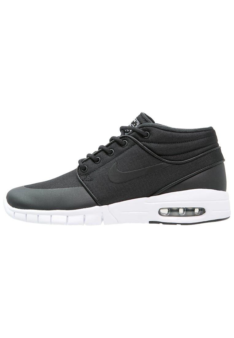 Haz clic para ver los detalles. Envíos gratis a toda España. Nike SB STEFAN  JANOSKI MAX Zapatillas altas black/metallic silver/white: Nike SB ...
