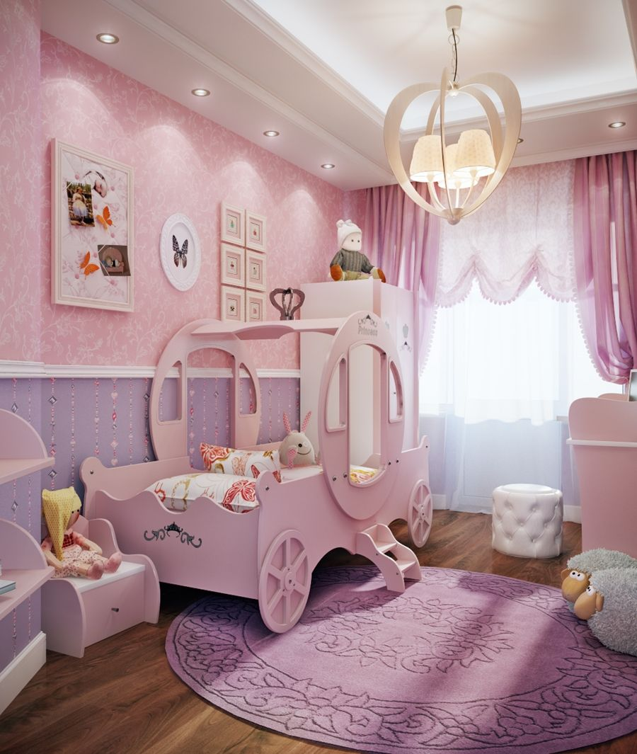10 Cute Ideas To Decorate A Toddler Girl S Room Toddler Rooms Toddler Girl Room Purple Girls Bedroom