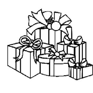 Christmas Presents, I Love Christmas Presents Coloring Pages ...