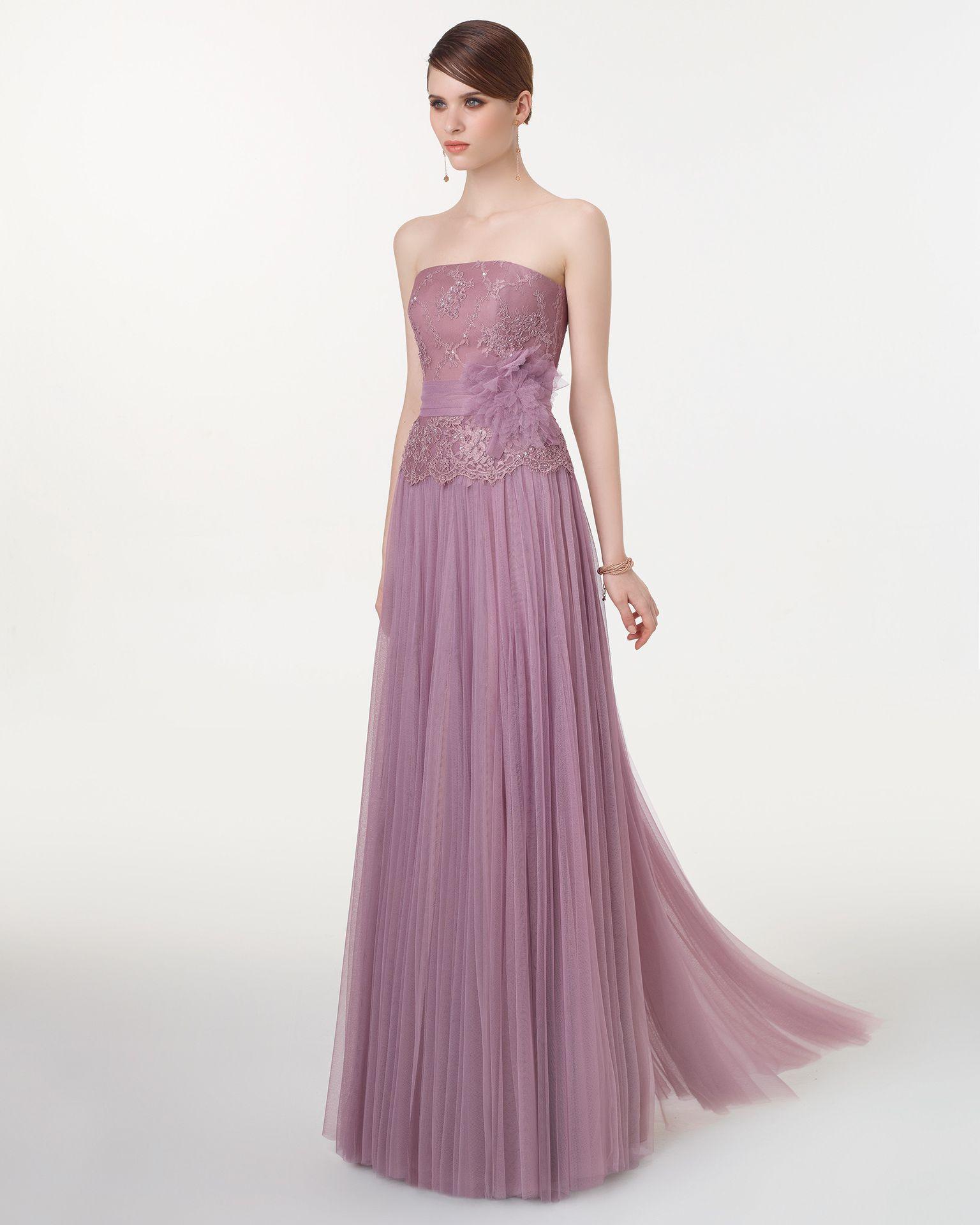 Vestido Y Chal De Tul Sedoso Encaje Pedrería Flor Color Esmeralda