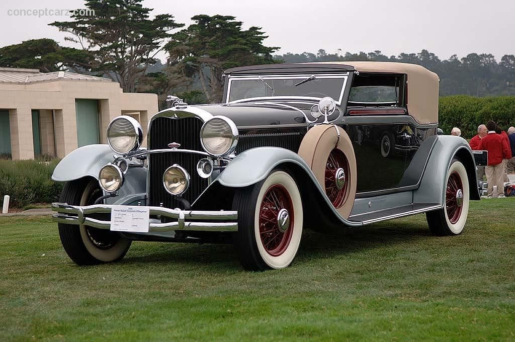 1931 Lincoln Model K At The Pebble Beach Concours D