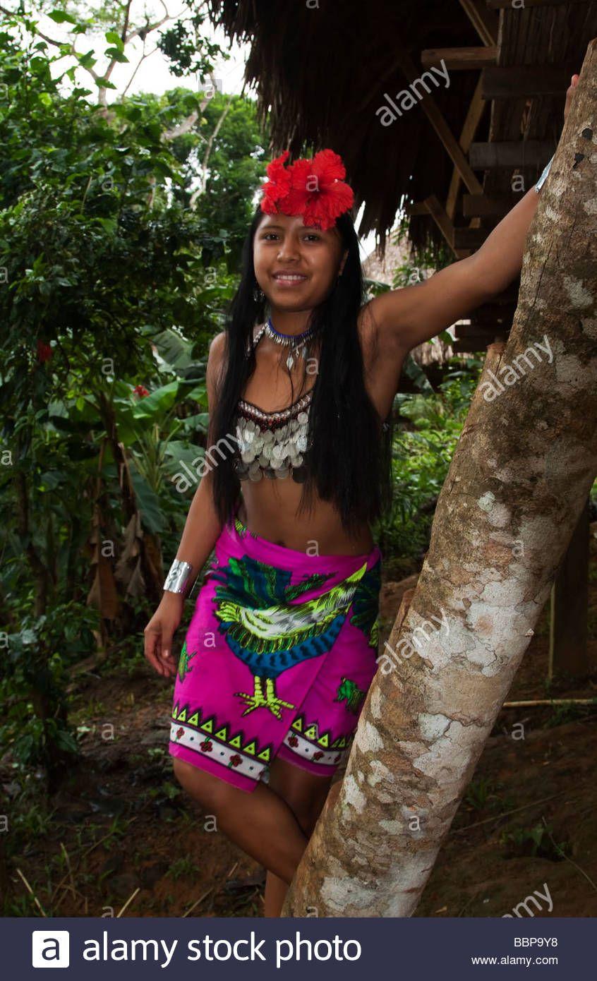 Download This Stock Image Panama Chagres National Park Embera
