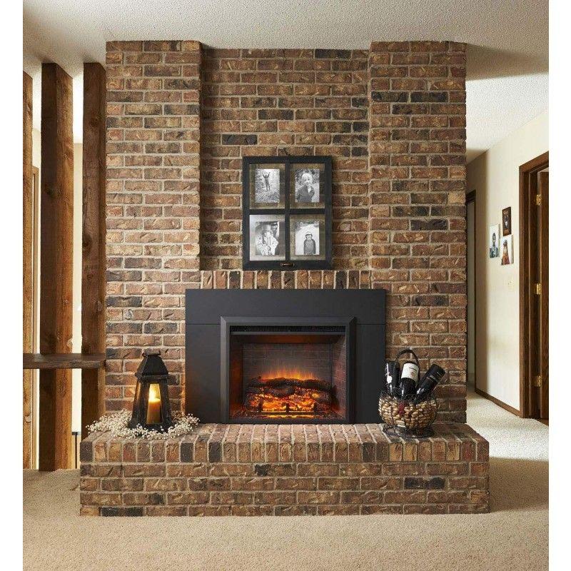 Greatco Gi 29 Is Gallery Series Insert Electric Fireplace Chimeneas Chimeneas De Piedra Interiores De Casa