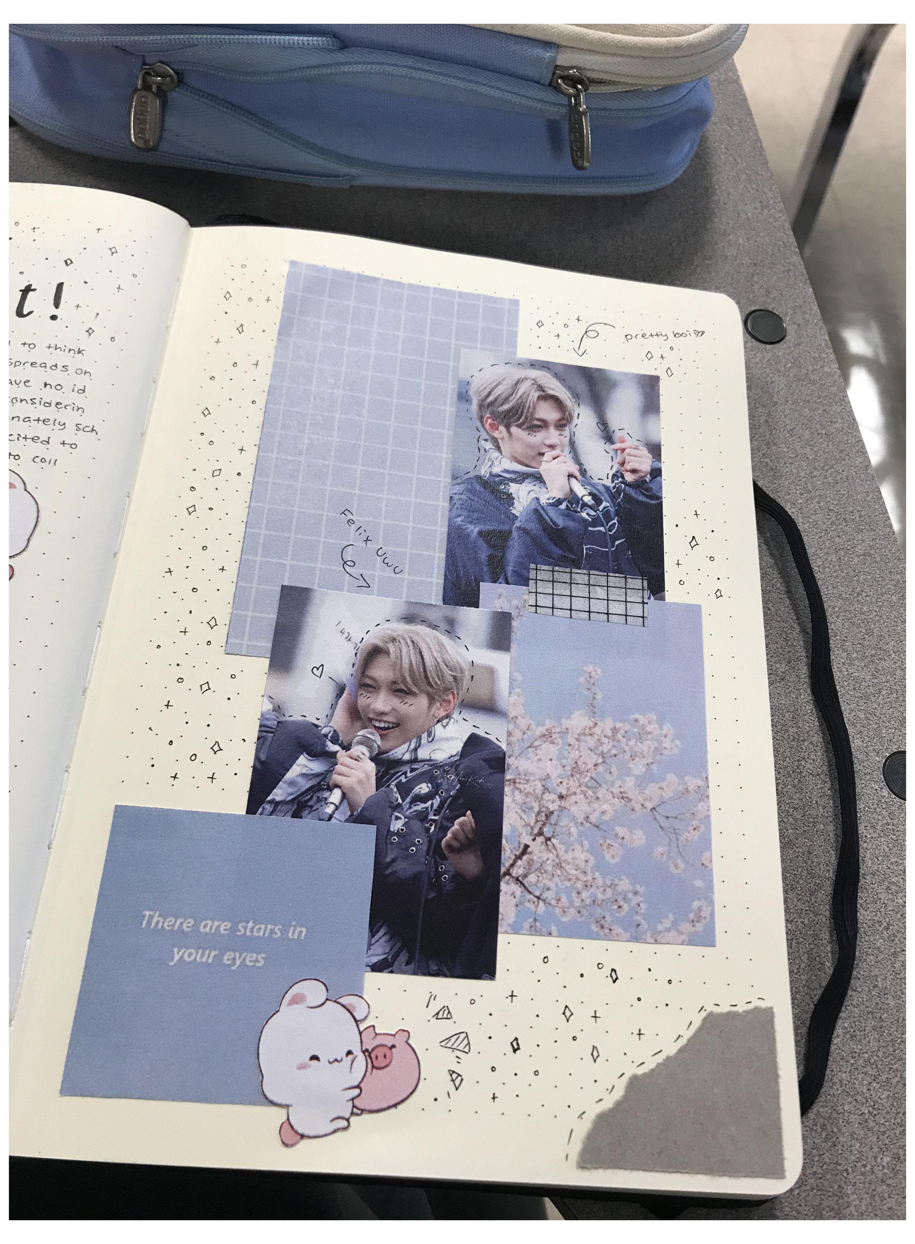 scrapbook journal kpop