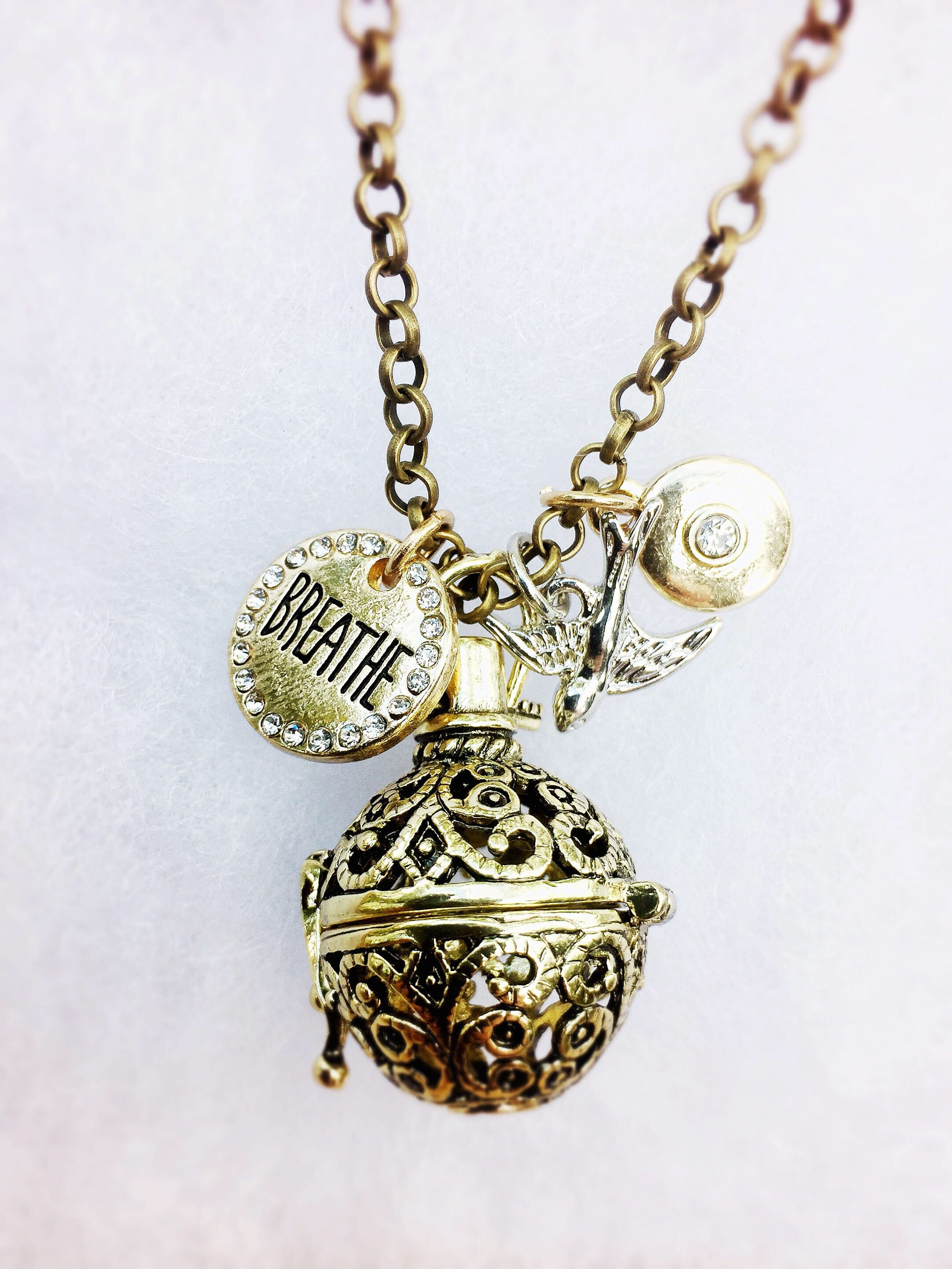 necklace essential locket maltese model cross diffuser oil celtic perfume firefighter