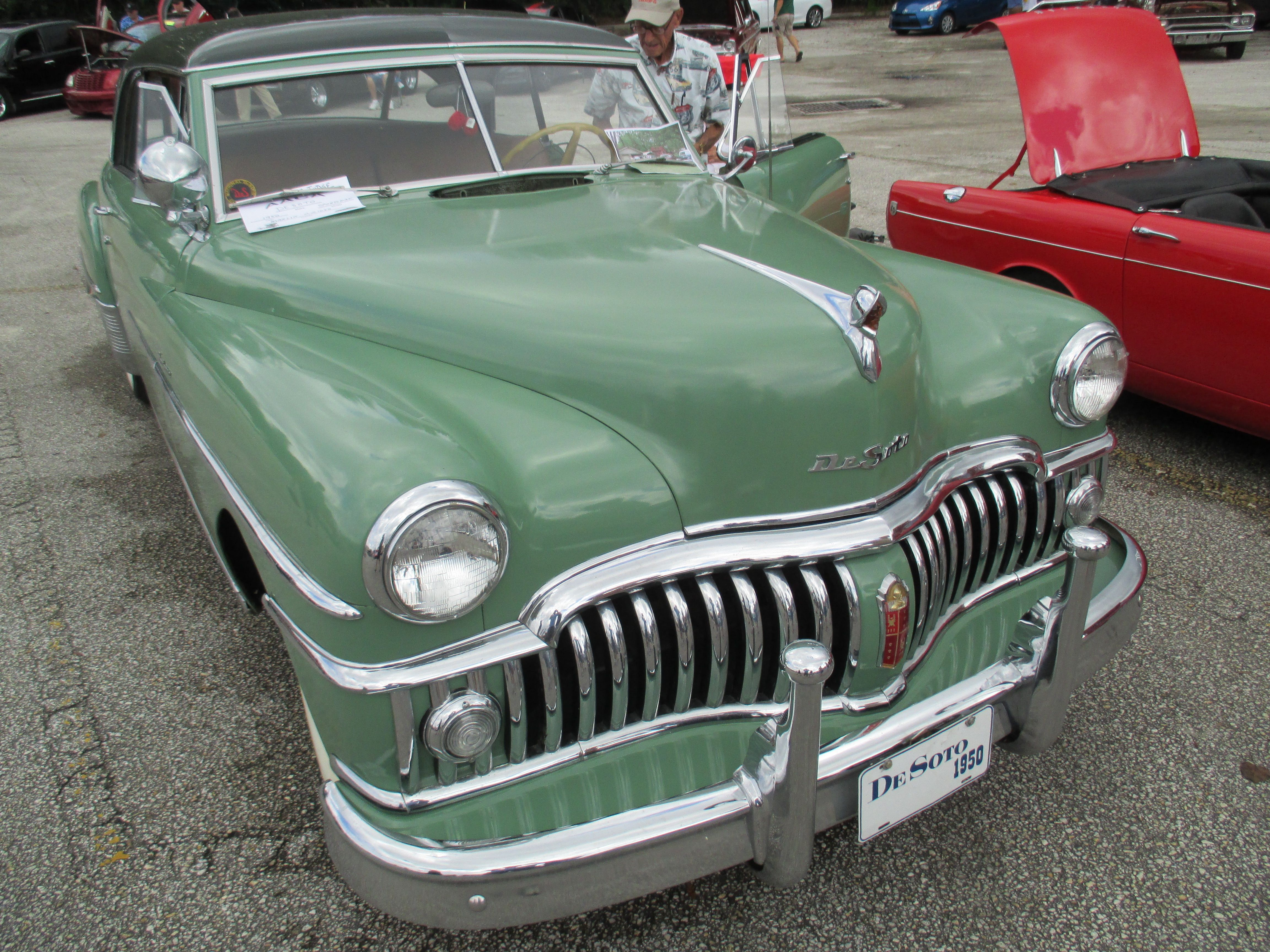 1956 desoto firedome seville 4 door hardtop 1 of 10 - 1950 Desoto Custom Sedan Dad Had A Light Blue 50 Or 51 Semi Automatic That I Got My License In That S My Car Pinterest Sedans Cars And Mopar