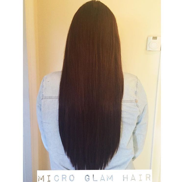 Pin By Micro Glam Hair Extensions On Micro Glam Hair Extensions