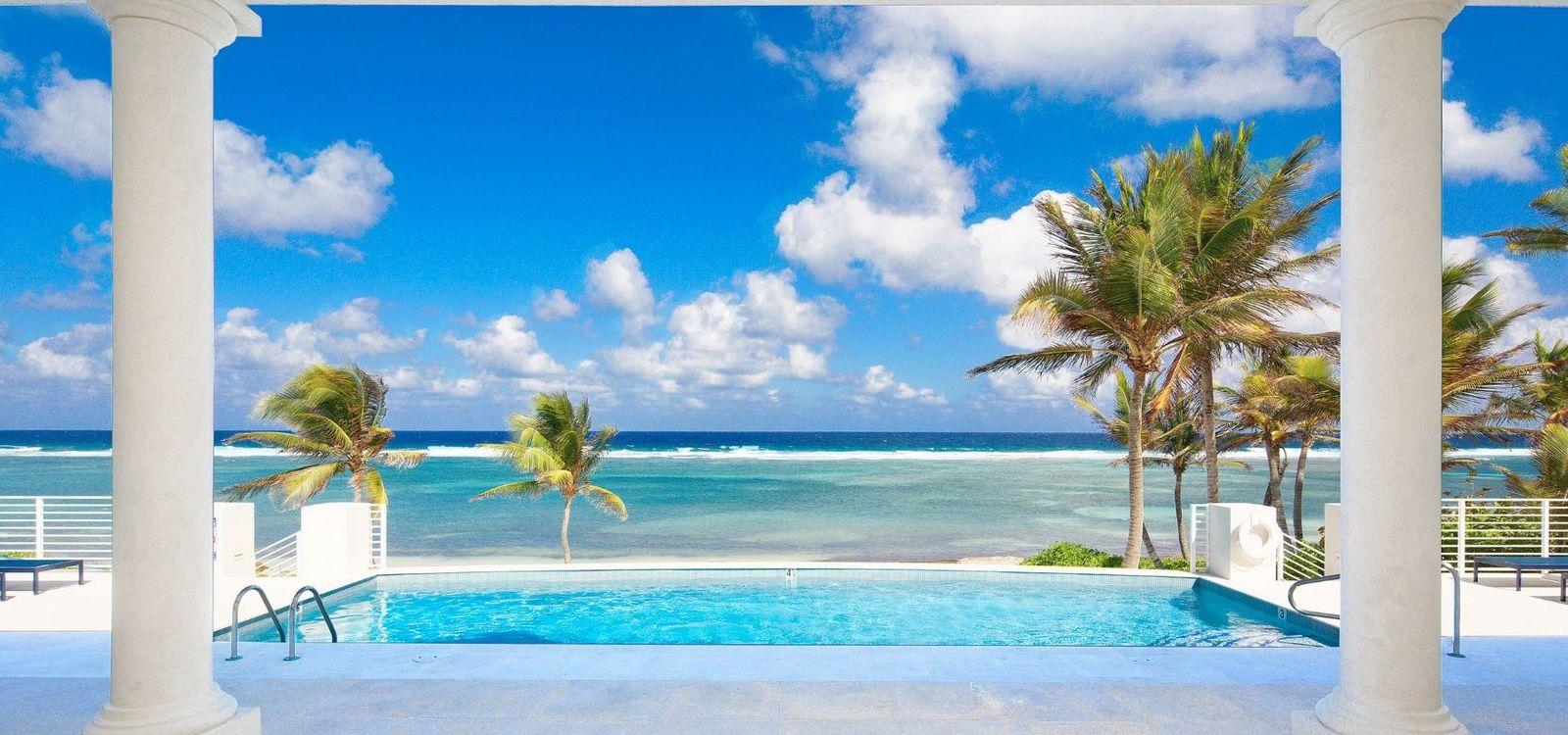 6 bedroom beachfront home for sale cayman kai grand
