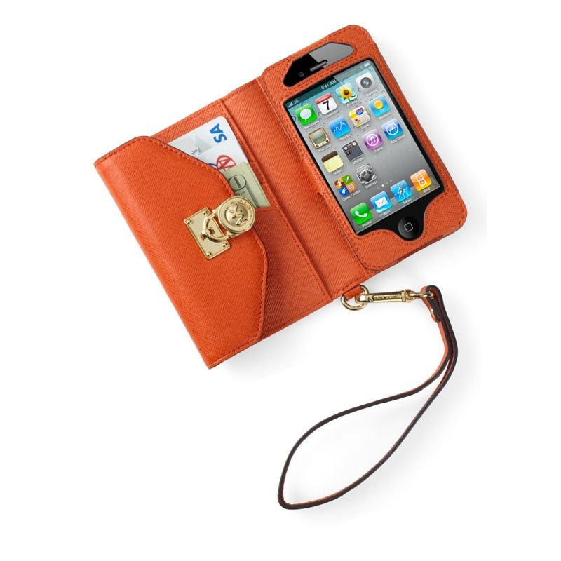 74b9bb616e4e Michael Kors Wallet Clutch Case for iPhone 4S - Apple Store for Business  (U.S.)