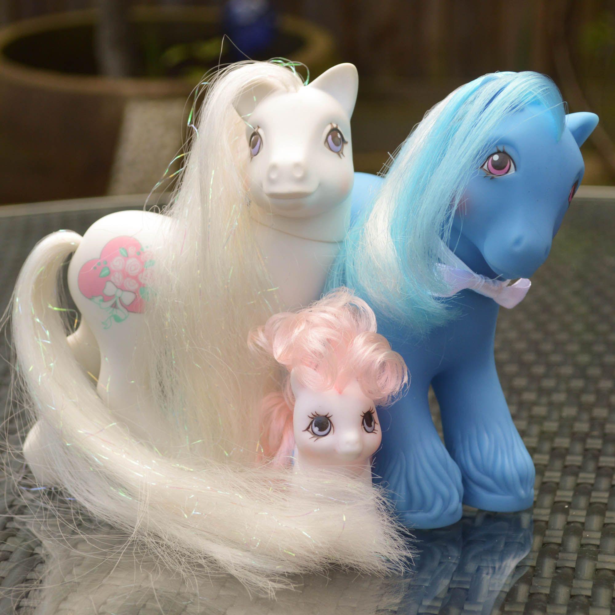 My Little Pony Wedding: My Little Pony Bride Groom & Bridesmaid. Bridal Beauty