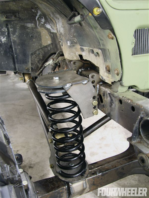 For The Upper Coil Buckets On The Front Of The Jeep We Used Ballistic Fabrication S Adjustable Upper Buckets Onc Jeep Wrangler Parts Jeep Wrangler Jeep Frame