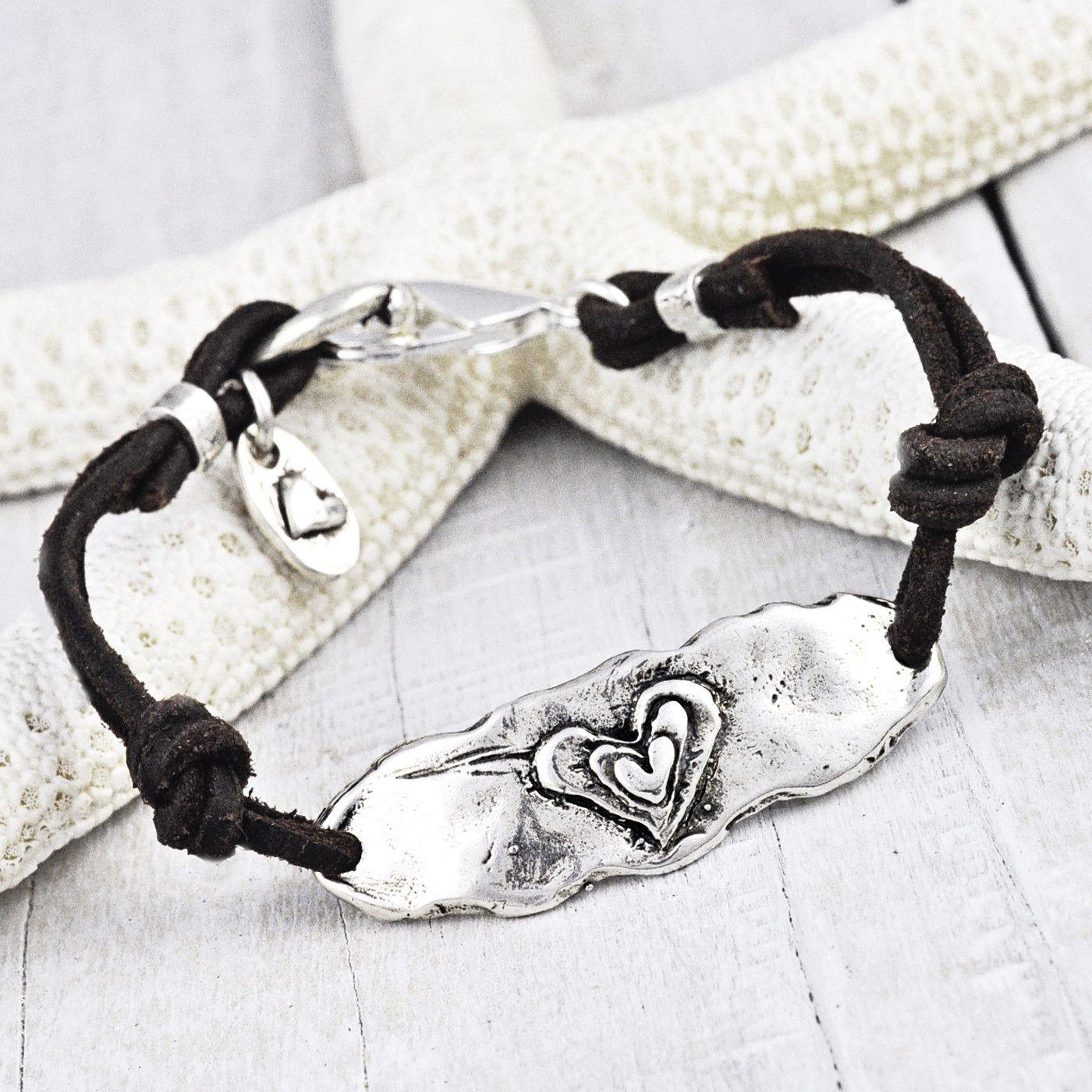 Follow Your Heart Bracelet from Island Cowgirl Jewelry