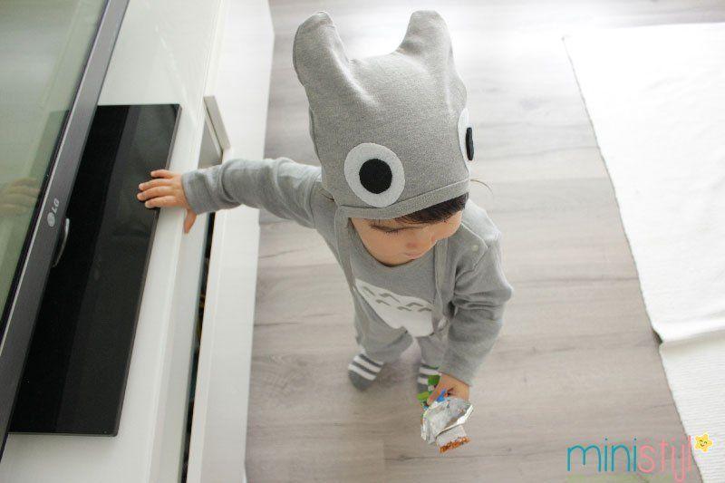 Totoro onesie | DIY - ministijl