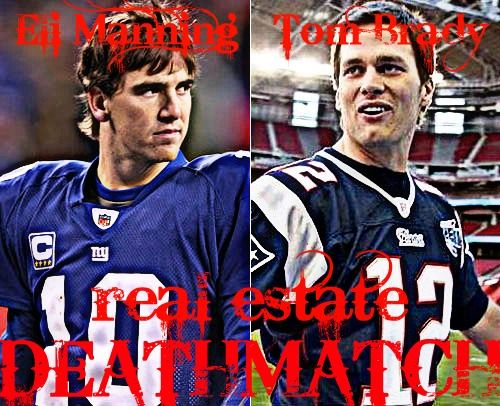 All Hail the Eli Manning/Tom Brady Real Estate Deathmatch http://bit.ly/x07NlM