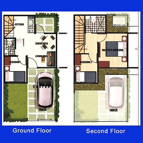 2 Storey Apartment Floor Plans Philippines