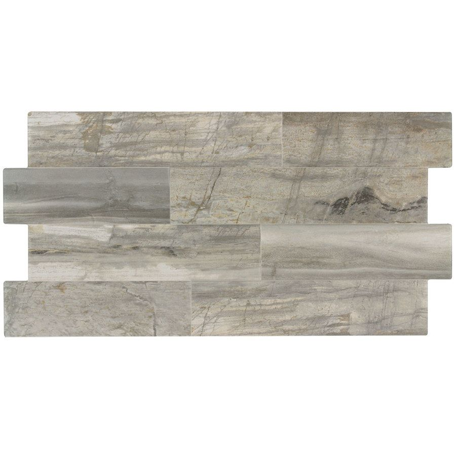Perfekt Shop Elida Ceramica Ledgewood Stone Linear Porcelain Wall Tile (Common:  12 In X 24 In; Actual: 13.126 In X 24.876 In) At Lowes.com