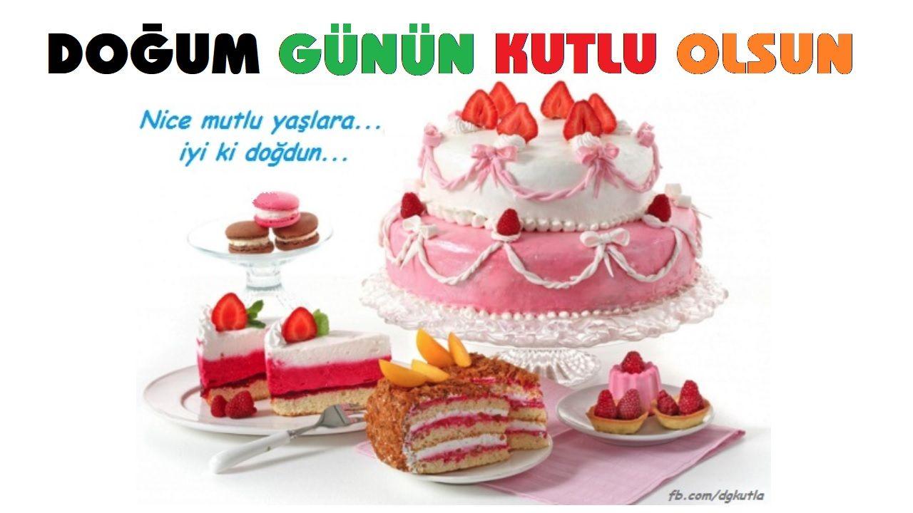 Pastali Dogum Gunu Kutlama Tebrik Karti Dogum Gunu Kutla Birthday Greetings Happy Birthday Greetings Happy Birthday Greeting Card