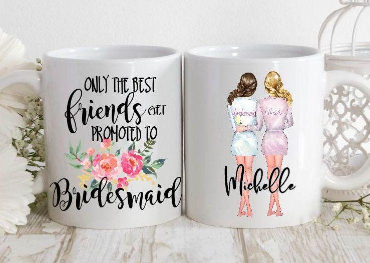 Bridesmaid Proposal,Bridal Mug,Personalized Bridal Mug,Bridal Cup,Bridesmaids Mugs,Personalized Bridesmaid Mug,Bridal Party Mugs,Custom Mugs #custommugs
